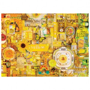 Puzzle Shelley Davies: Yellow - 1000 pz - Cobble Hill 80148