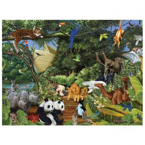 Puzzle Noah's Gathering - 350 pz - Cobble Hill 54613