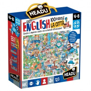 Easy English 100 Parole - La Città