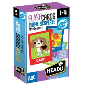 Flashcards Montessori - Prime scoperte