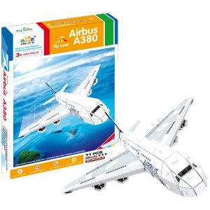 Airbus A380 - Puzzle 3D