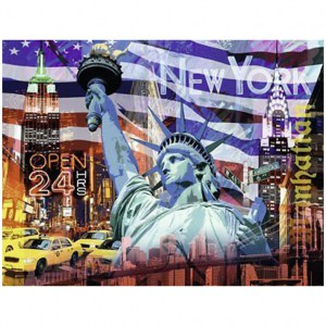 Puzzle: New York Collage - 2000 pz - Ravensburger 16687