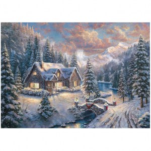 High Country Christmas - Natale in campagna - 1000 pz - Schmidt 59493